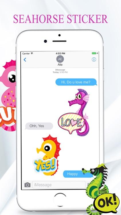 Seahorse Stickers screenshot-3