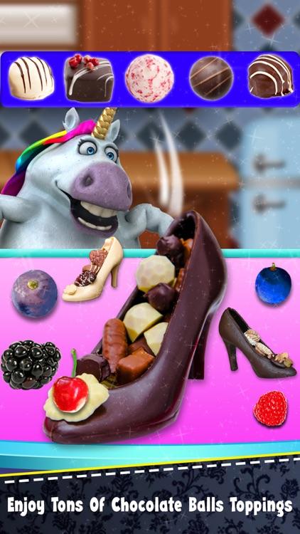 Fat Unicorn DIY Chocolate Shoe