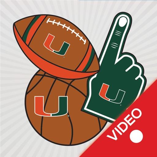 Miami Hurricanes Selfie Animtd