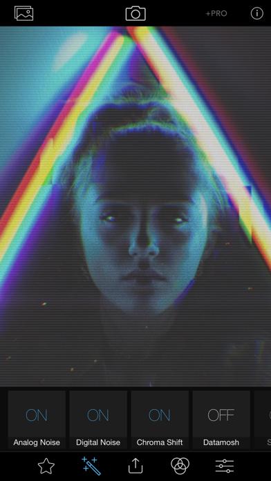 Glitch Art Studio: Cam Effects screenshot two