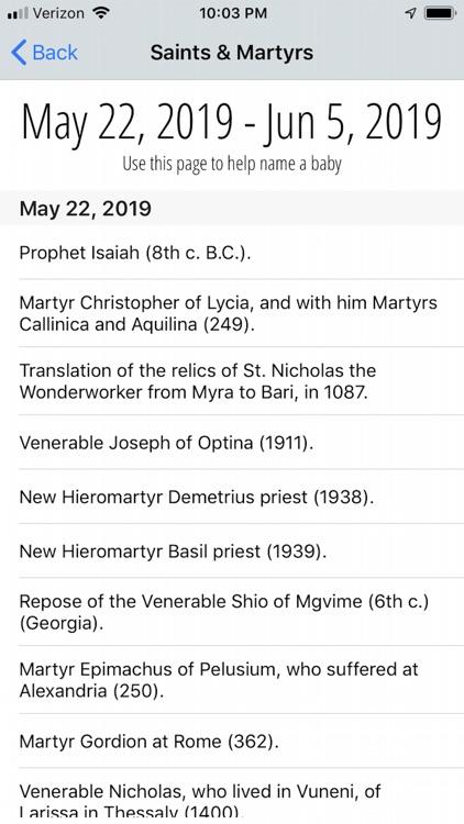 Old Believer Orthodox Calendar screenshot-3