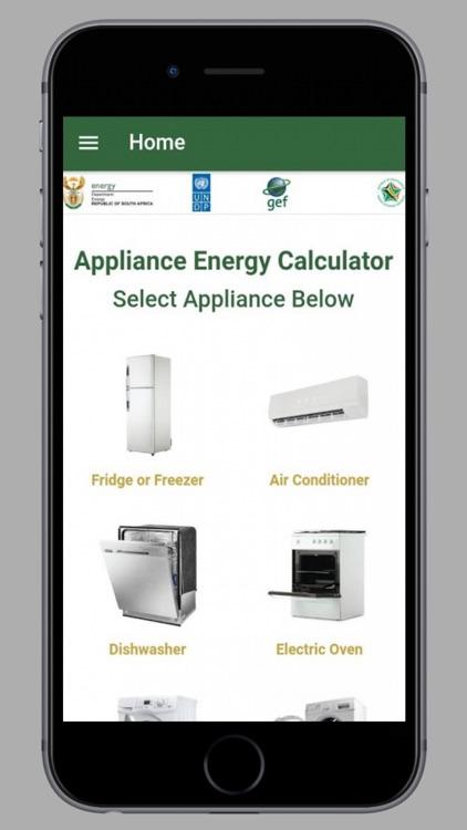 Energy usage calculator | appliance power consumption.