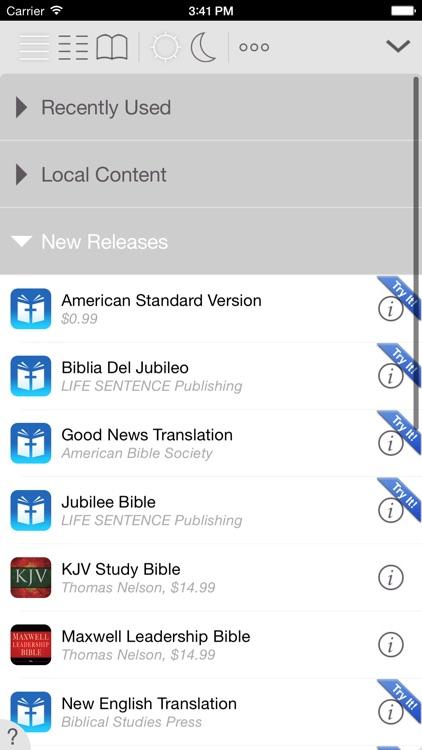 Men's Devotional Bible screenshot-3