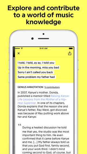 ac2e085e5 Genius: Song Lyrics & More on the App Store