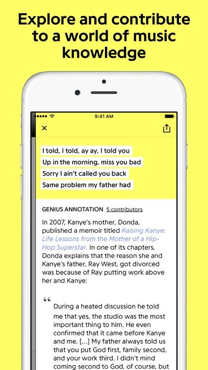 Genius: Song Lyrics & More screenshot-4