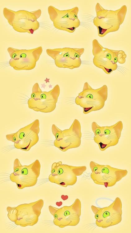 Yellow Cat emoji
