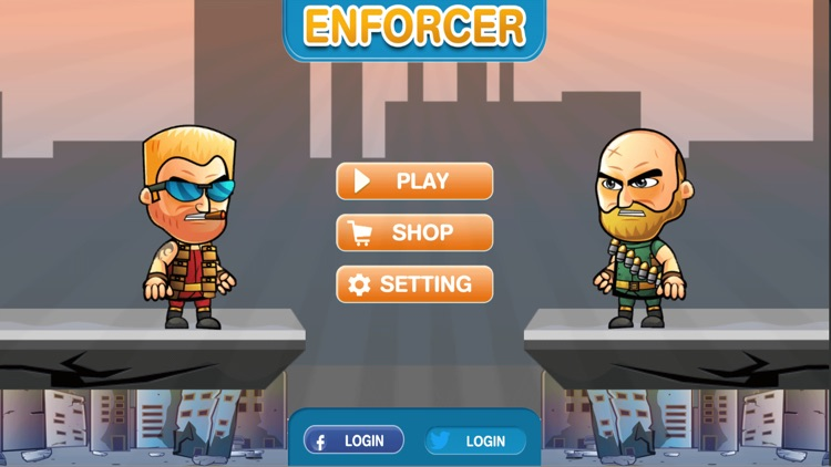 Enforcer - The Game