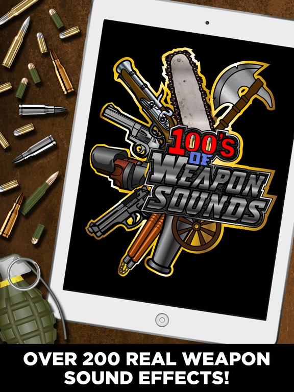 100's of Weapon Sounds Pro | App Price Drops