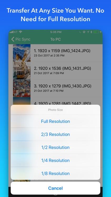 Pic Sync for Dropbox + WiFi screenshot-3