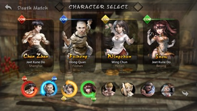Screenshot from Super Kung Fu All-Star Brawl