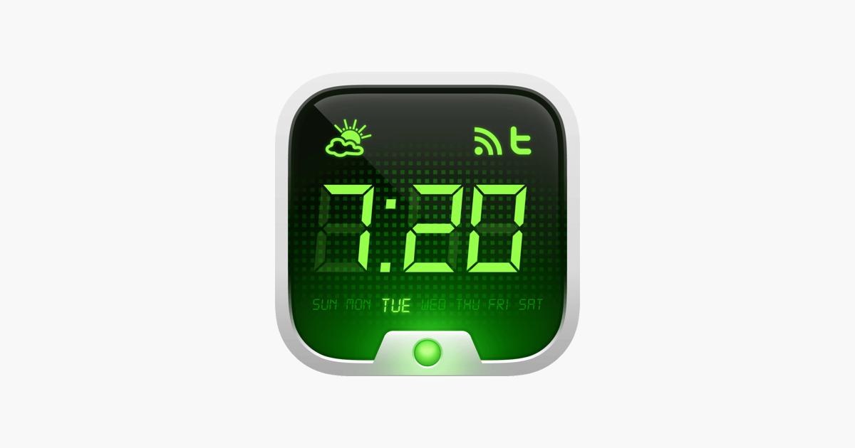 alarm clock on the app store