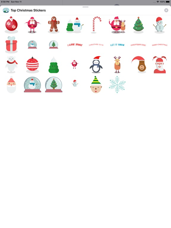 Top Christmas Stickers screenshot 5
