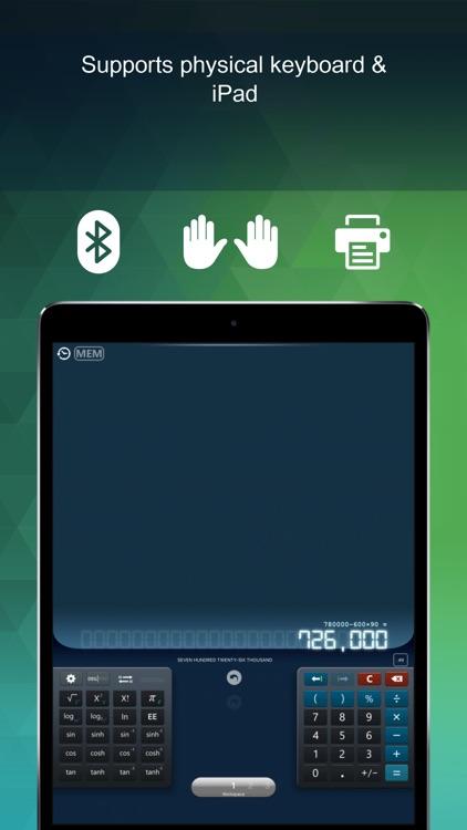 Calculator HD+ Pro screenshot-3