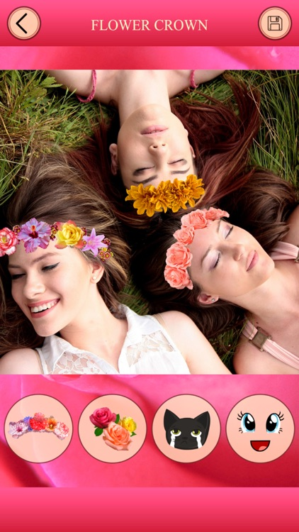 Flower Crown for Photo Editor screenshot-3