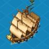 海盗船的战争 - 神奇的探险休闲小游戏