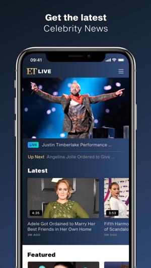 e9b6030e86b84c ET Live – Entertainment News on the App Store