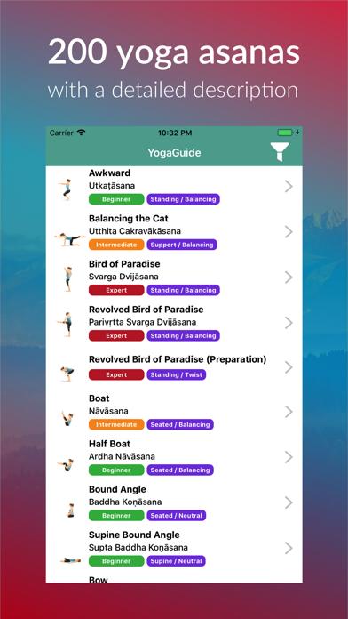 Yoga Asanas and Poses Guide screenshot two
