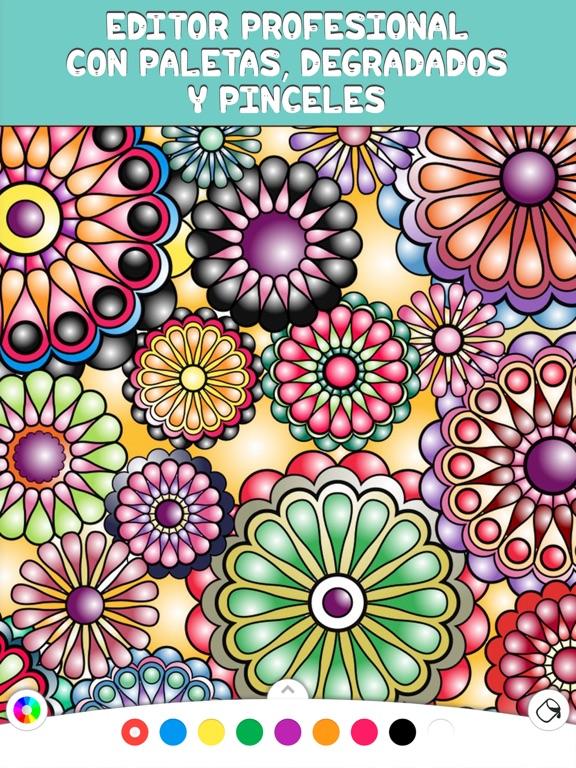 Coloring Book - Mandalapp screenshot 7