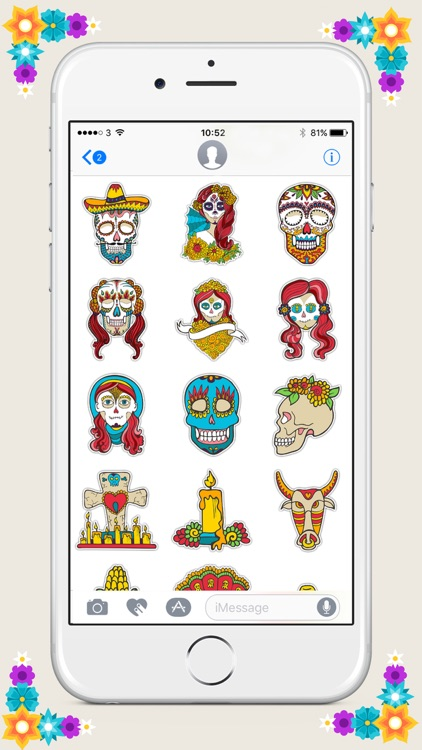 Day of the Dead Sticker Pack