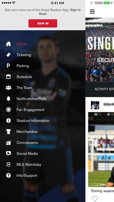 Avaya Stadium by San Jose Earthquakes (iOS, United States