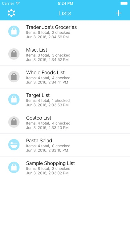 Grocery Listr | Lists