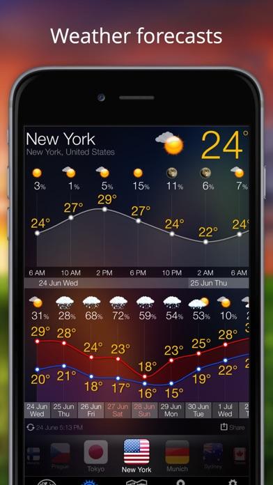 Прогноз погоды - Weather Now° Скриншоты6
