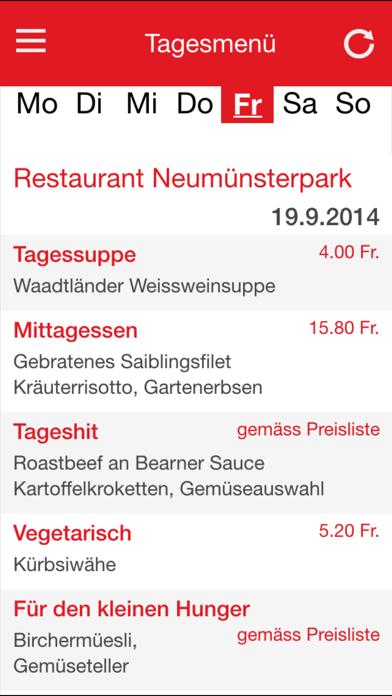 Gastronomie ZollikerbergScreenshot von 2