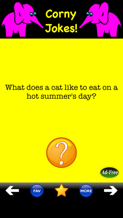 Best Corny Jokes! Silly LOL! iPhone