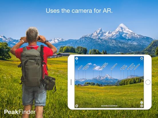 Screenshot #1 for PeakFinder AR