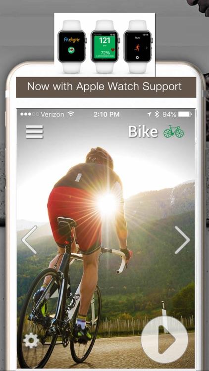 iBiker Cycling & Heart Trainer screenshot-0