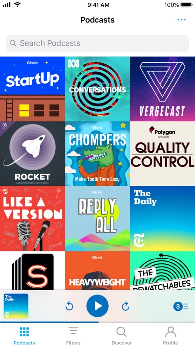 Pocket Casts screenshot1