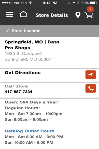 Bass Pro Shops screenshot 2