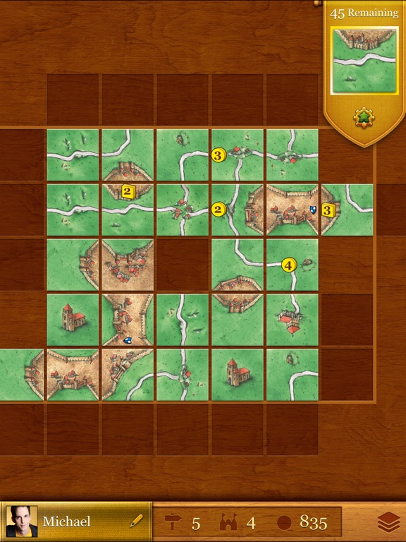 Screenshot #4 for Carcassonne