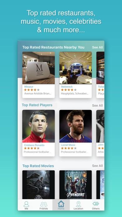 Global Rank - Rating & Review screenshot one