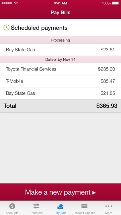 IU Credit Union Mobile Banking screenshot-3
