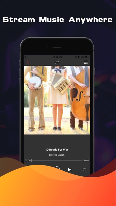 Screenshot for Music On - Play any hot music in United States App Store