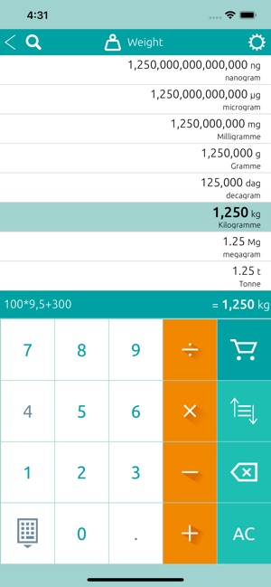 Unit Converter Conversion On The App Store