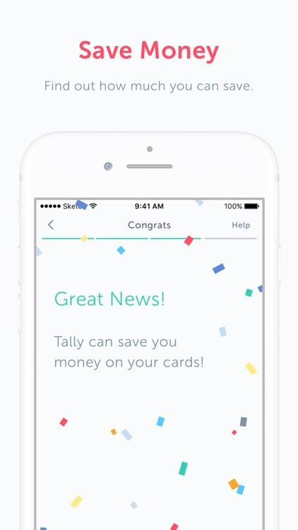Tally: Credit Card Debt Payoff
