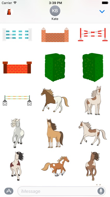 Horsesmoji Equestrian Stickers screenshot-3