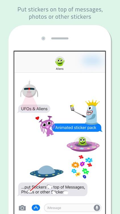 UFOs & Aliens animated screenshot-3