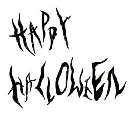 Happy halloween! stickers
