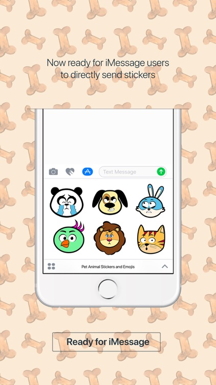 Cute Animal Stickers & Emojis