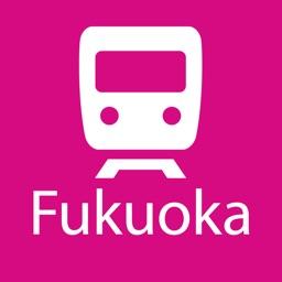 Fukuoka Rail Map Lite