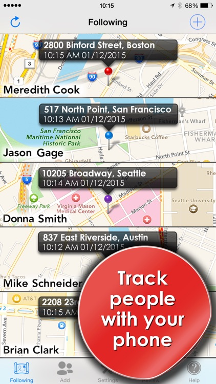 Phone Tracker for iPhones: GPS screenshot-0