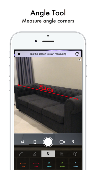 Air Touch Measure by Nam Kennic (iOS, United States