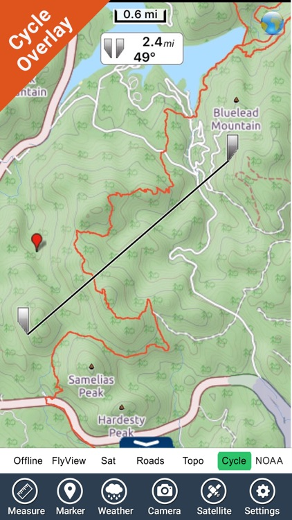 Black Hills NF (SD/WY) - GPS Map Navigator screenshot-1