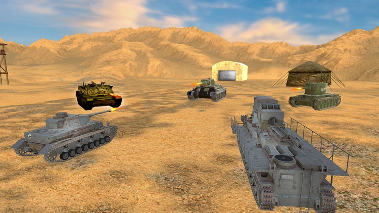 Futuristic Tank War Simulator 2018 screenshot-3