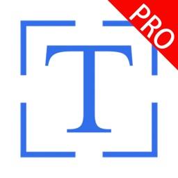 拍照取字专业版-文件极速扫描和翻译工具