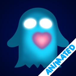 Heart-Glowing Ghost (animated)