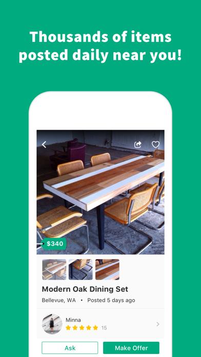 Screenshot 4 for OfferUp's iPhone app'